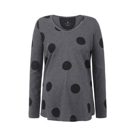 bellybutton  Langærmet skjorte med prikker til gravide under barsel