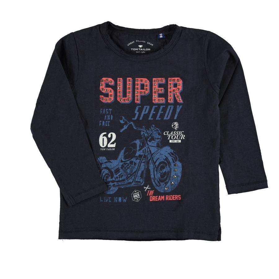 T-shirt TOM TAILOR Garçons, bleu