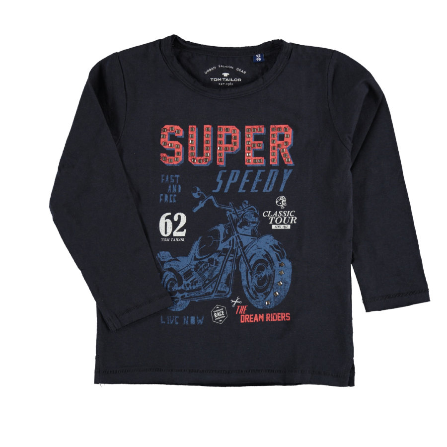 TOM TAILOR Boys T-Shirt, blau