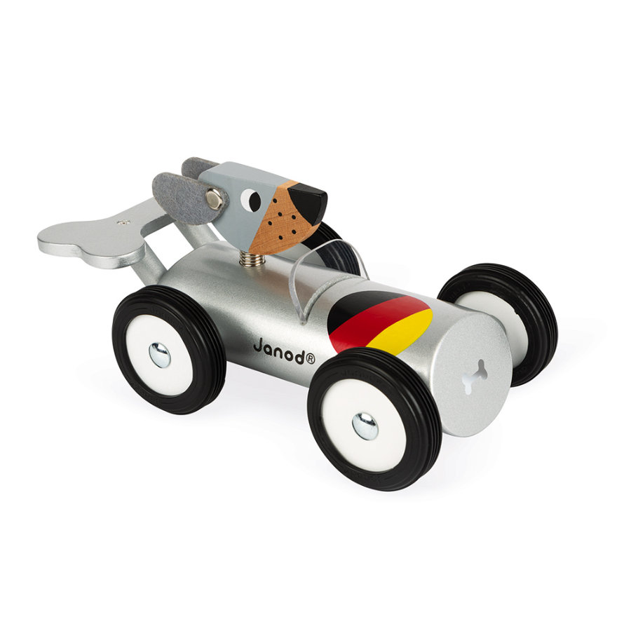 Janod® Spirit - Raceauto Hans zilver