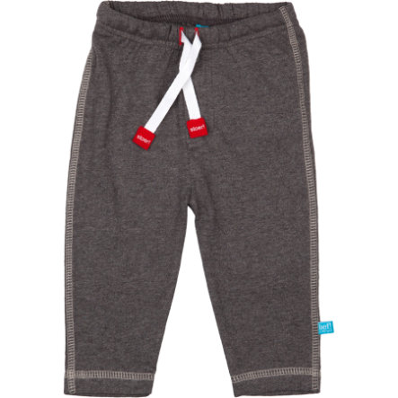 LIEF! Boys Baby Sweathose dark grey melange