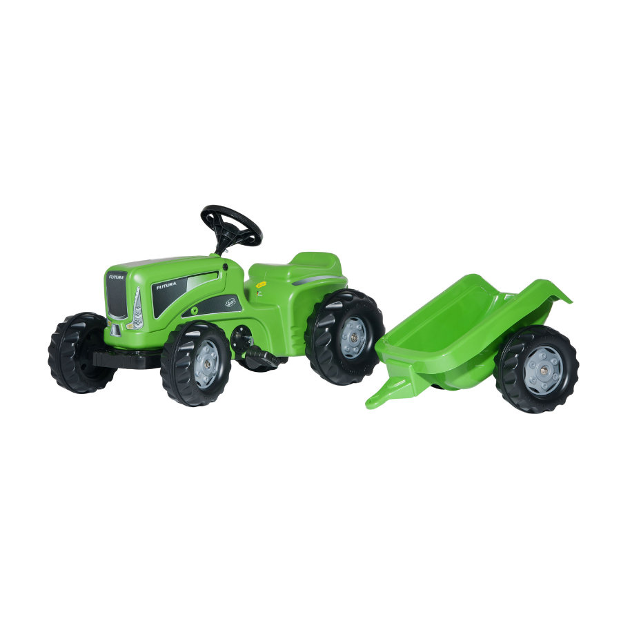 ROLLY TOYS rollyKiddy Futura tractor + trailer