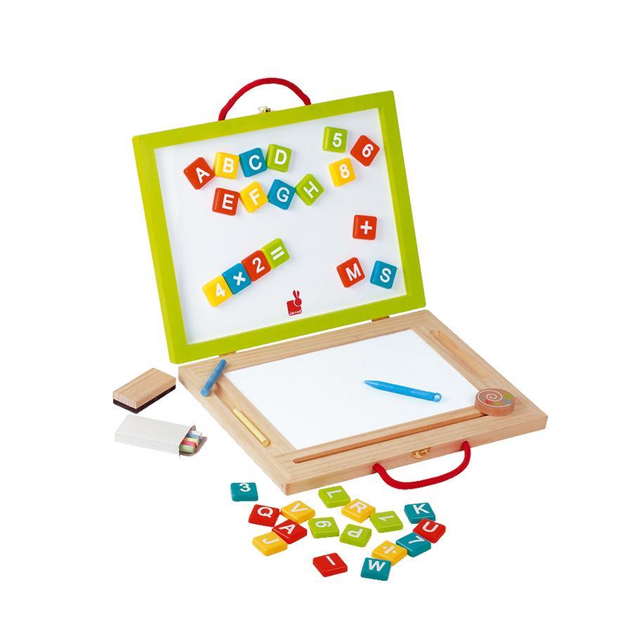 Magnet a tabule Janod Magic, skládací a přenosné