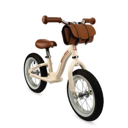 Janod Vintage -Bikloon hjul lysebrunt med styreveske