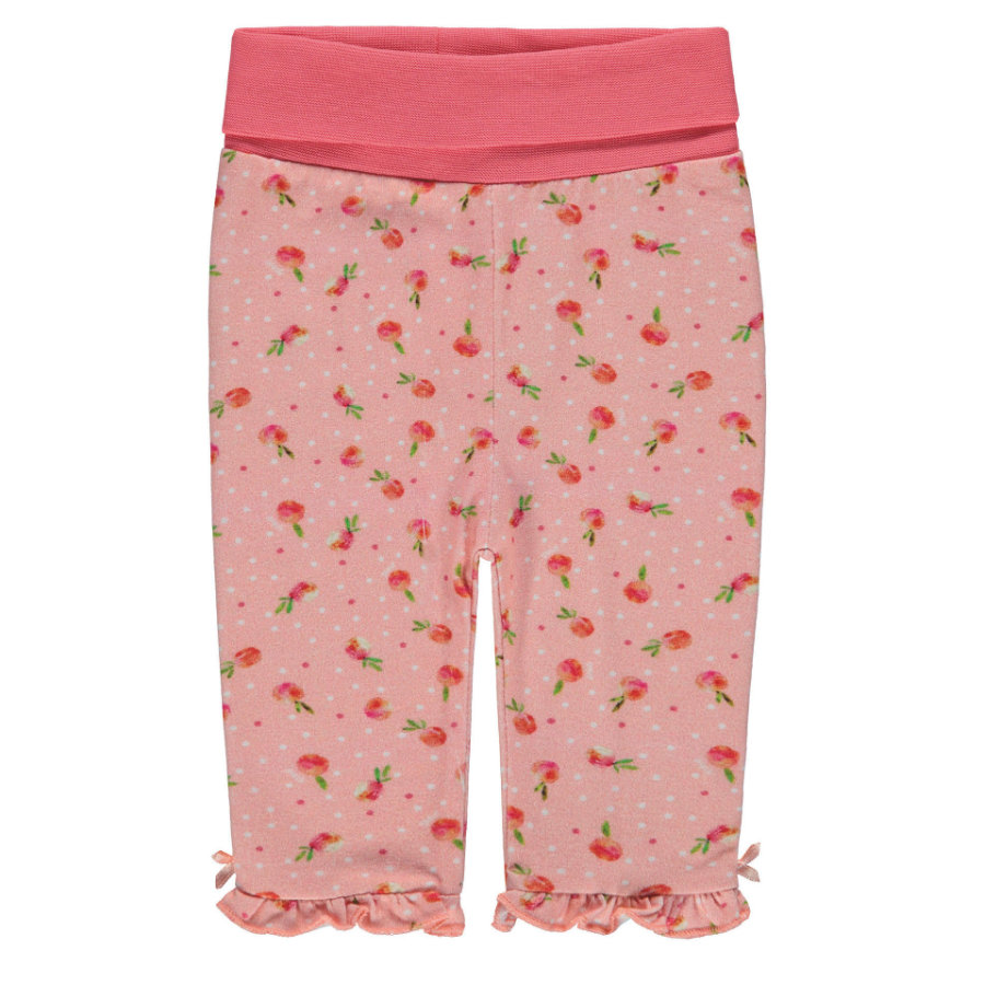 Steiff Girls Leggings, allover little peach