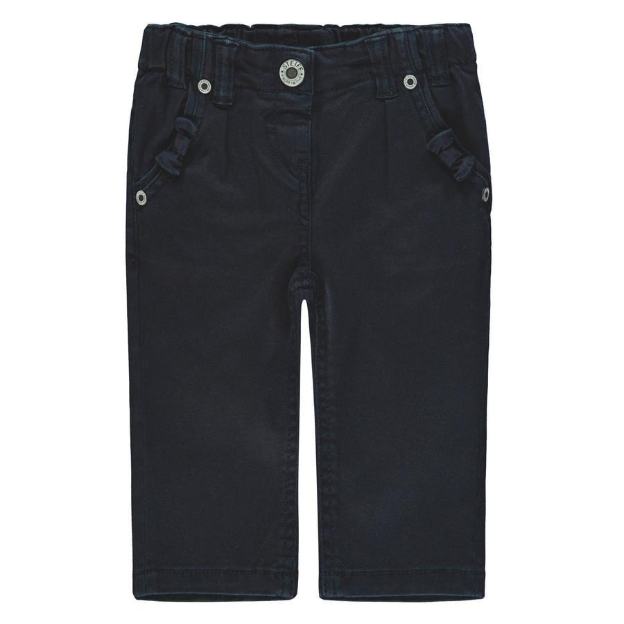 Steiff Girl s Pantaloni marini blu