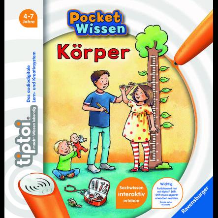 Ravensburger tiptoi® Pocket Wissen: Körper