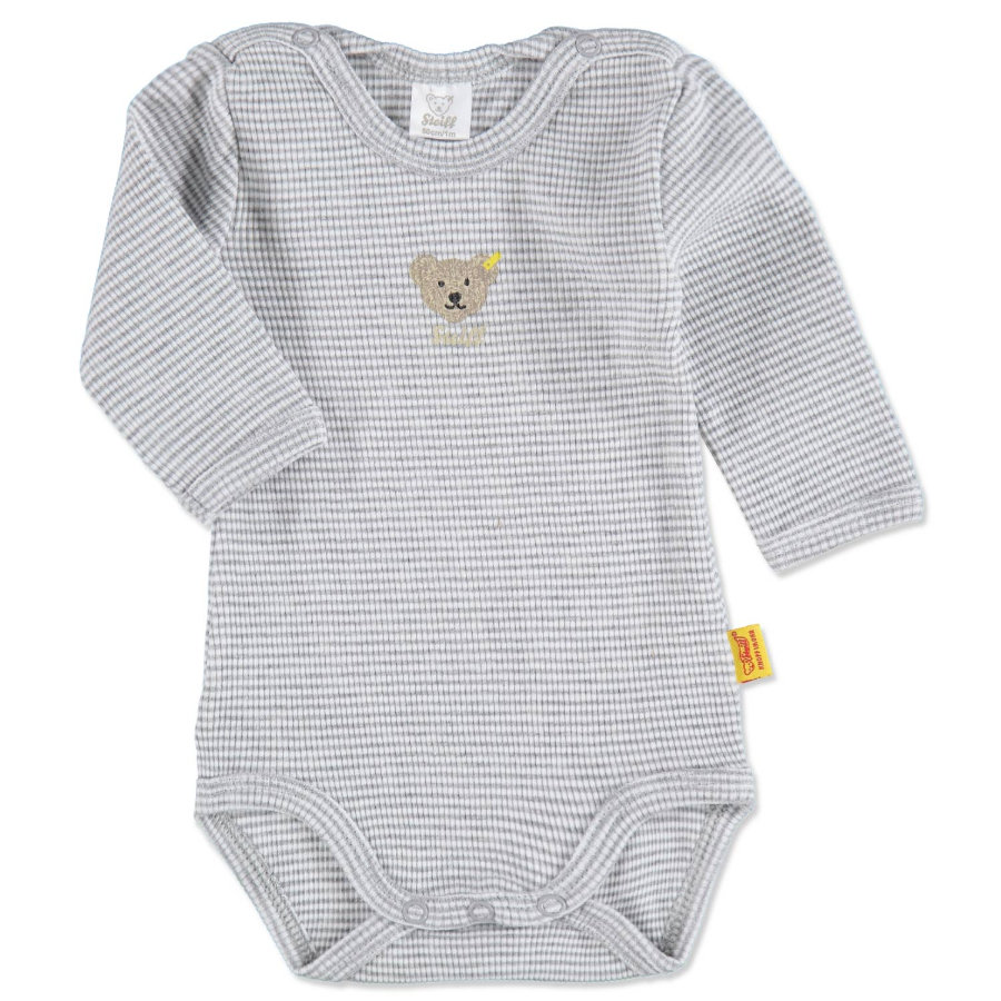 STEIFF  Baby Body 1/1 Arm Grey melange