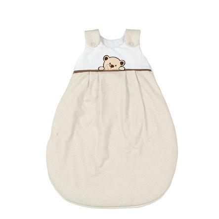 SONNE Ganzjahresschlafsack Benni der Bär beige