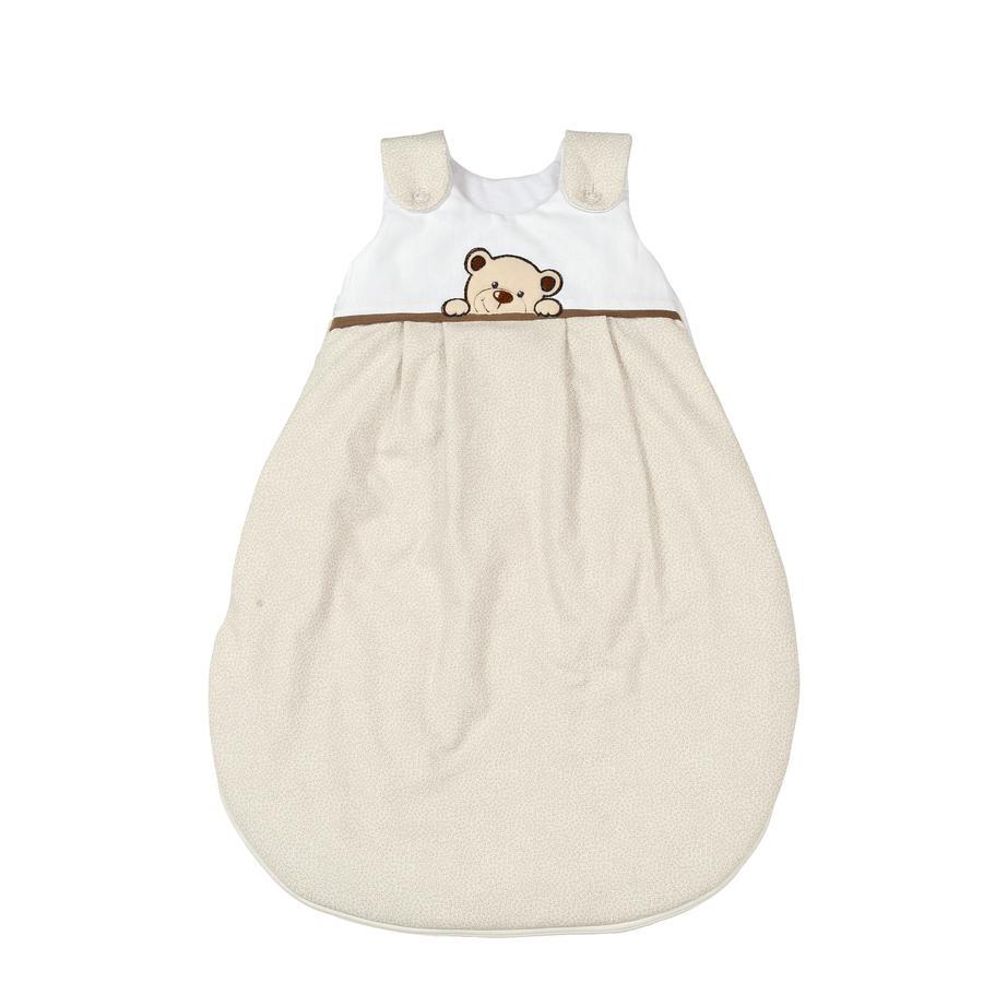 SONNE Hele året sovepose Benni bjørnen beige