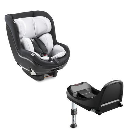 hauck Autostoel iPro Kids Set Caviar inclusief iPro Base