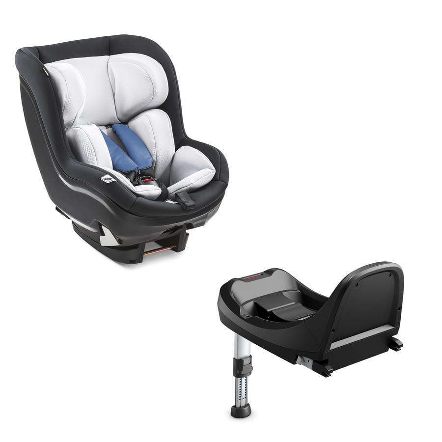 hauck iPro Kids bilstol sett inkludert base Denim