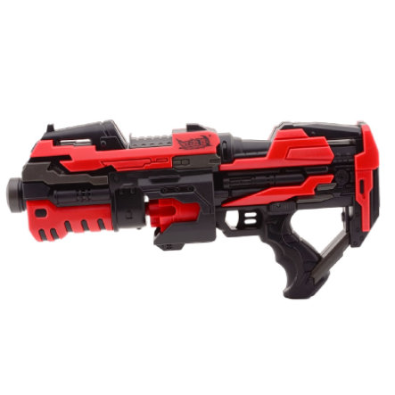JOHNTOY Serve & Protect Rotating Shooter 45 cm mit 10 darts