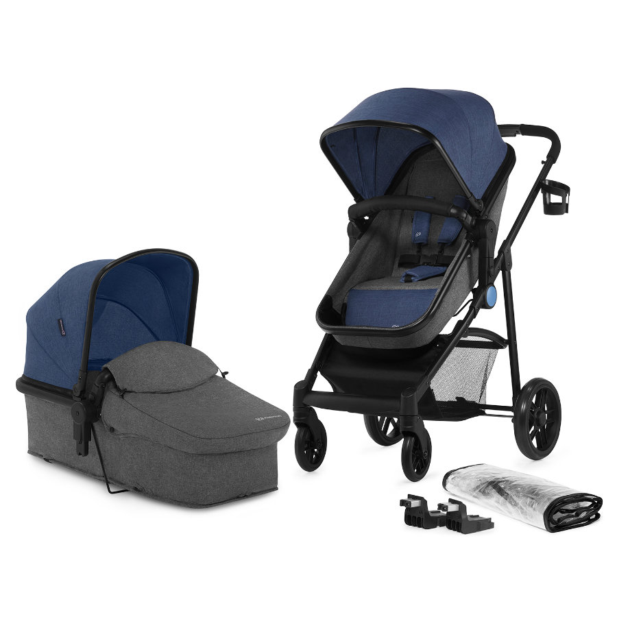 Kinderkraft Kombikinderwagen Juli 2 in 1 Denim