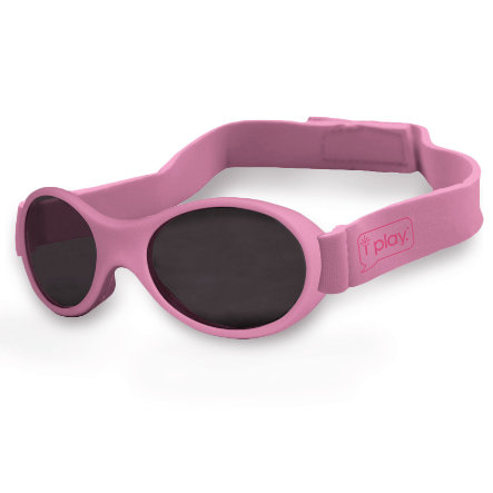 i play.® Sunglasses FLEXI SPECS with hook-and-loop fastener light pink