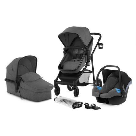 Kinderkraft Wózek dziecięcy Juli 3 in 1 grey