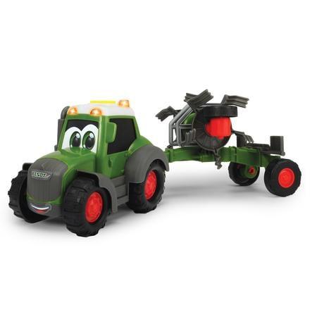 DICKIE Toys Tracteur enfant Happy Fendt Tedder vert