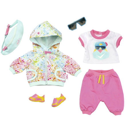 ad7a3e0d21c Zapf Creation BABY born® Play & Fun Deluxe Fiets Outfit