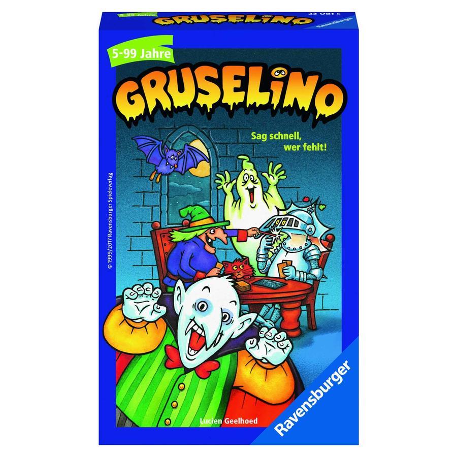 Ravensburger korttipeli Gruselino