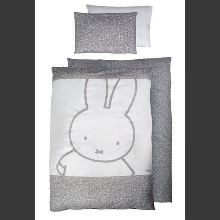 roba Set biancheria per culla 2 pezzi Miffy® 100 cm x 135cm
