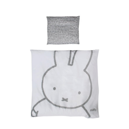 roba Wiegenbettwäsche 2-teilig Miffy® 80 cm x 80 cm