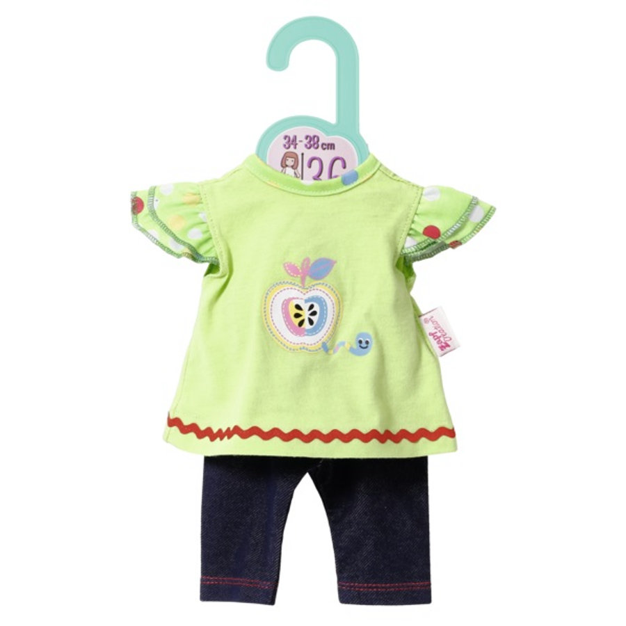 Zapf Creation  Dolly Moda Shirt met Leggings , 36cm