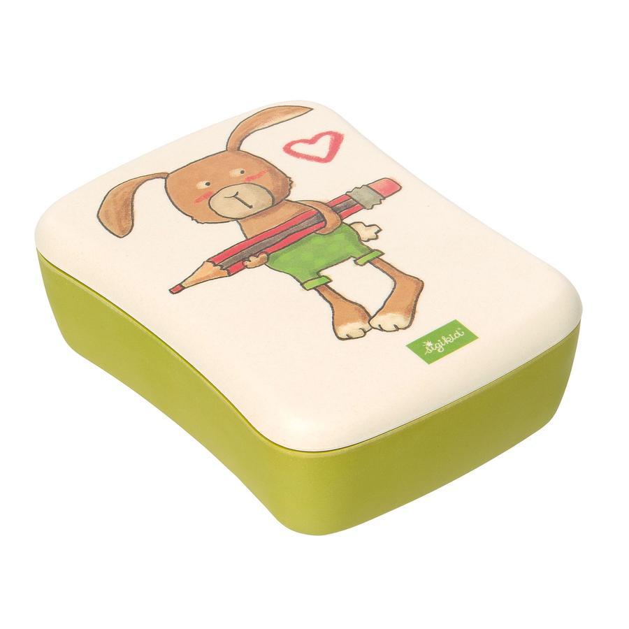 sigikid Green krabička na svačinu Bambus Zajíček