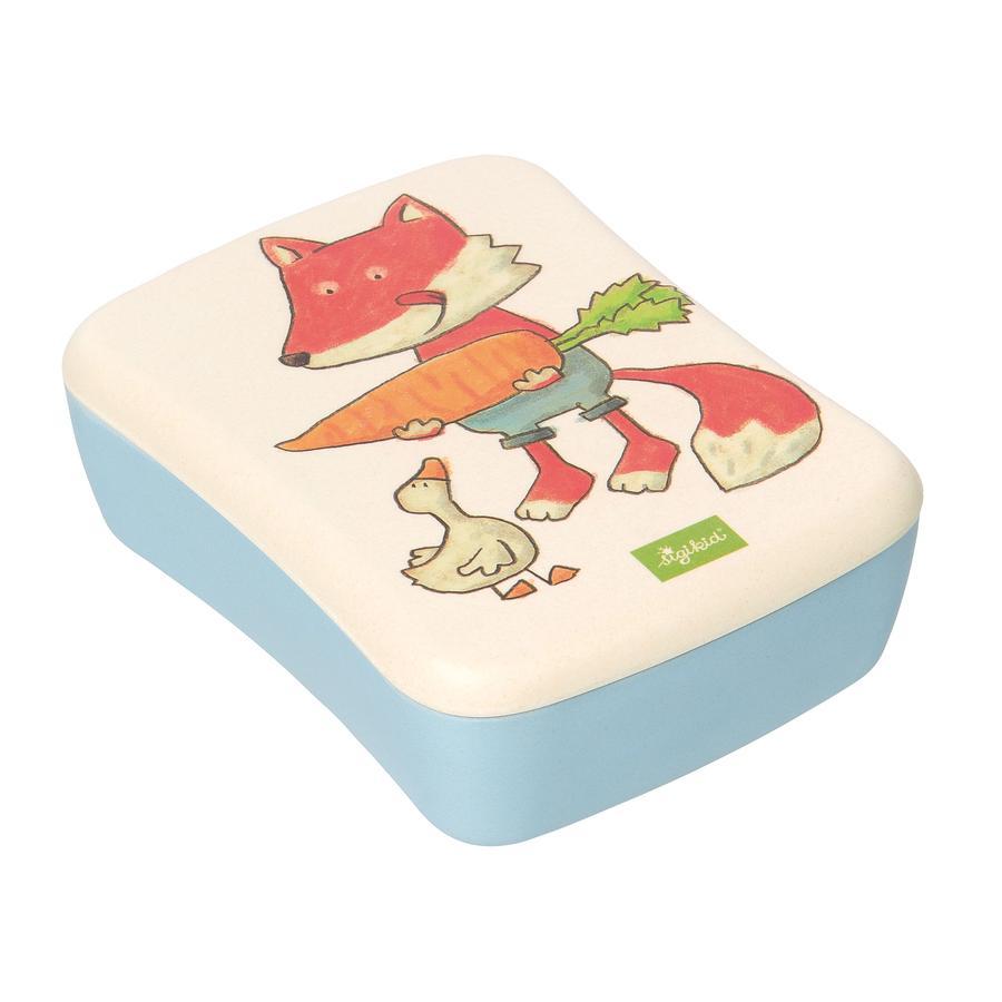 sigikid® Boîte à goûter enfant bambou renard vert