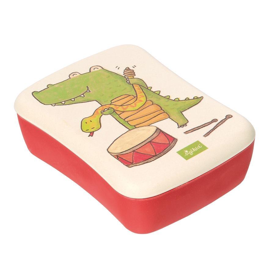 sigikid® Green Matlåda av Bambu Krokodil