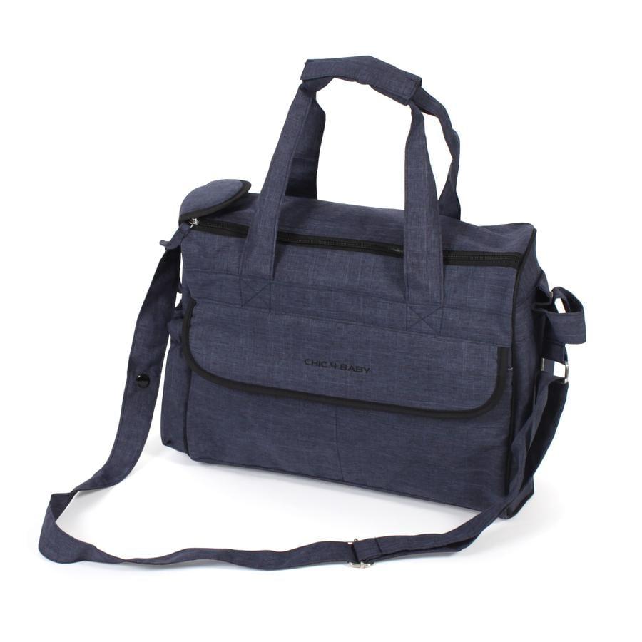 CHIC 4 BABY přebalovací taška Komfort Jeans navy blue