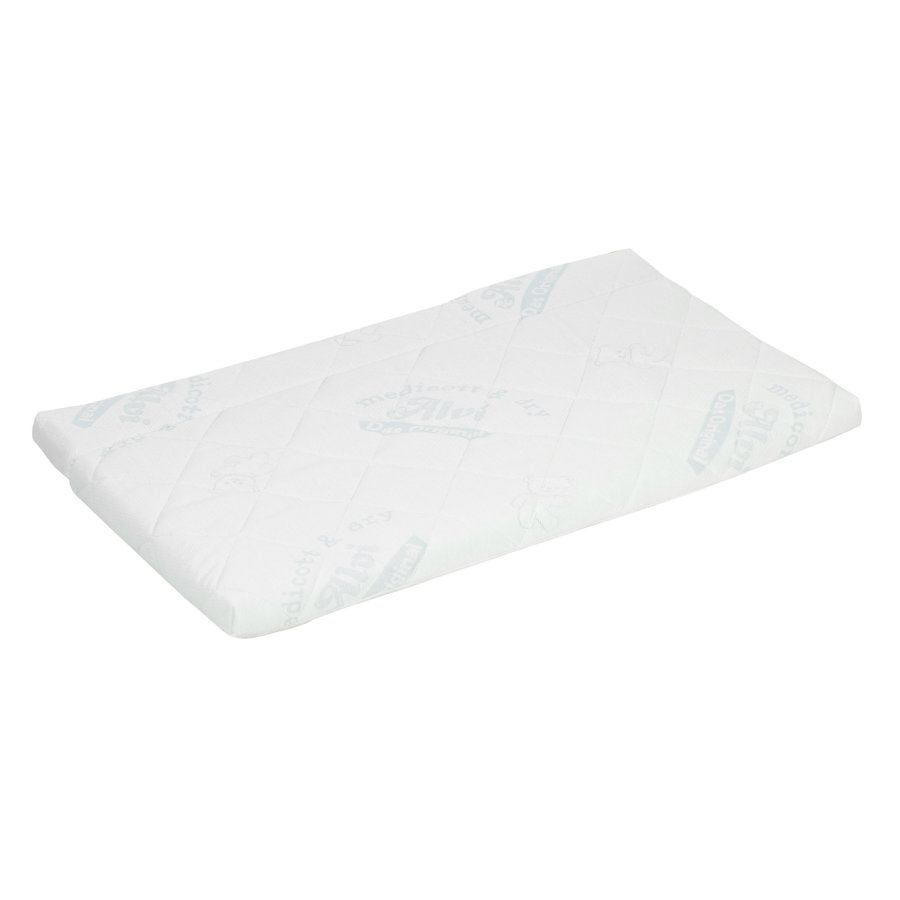 Alvi® Matelas pour lit cododo Klima Max pliable 50x90 cm
