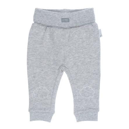 Feejte Pantalones Nubes estampadas gris mélange
