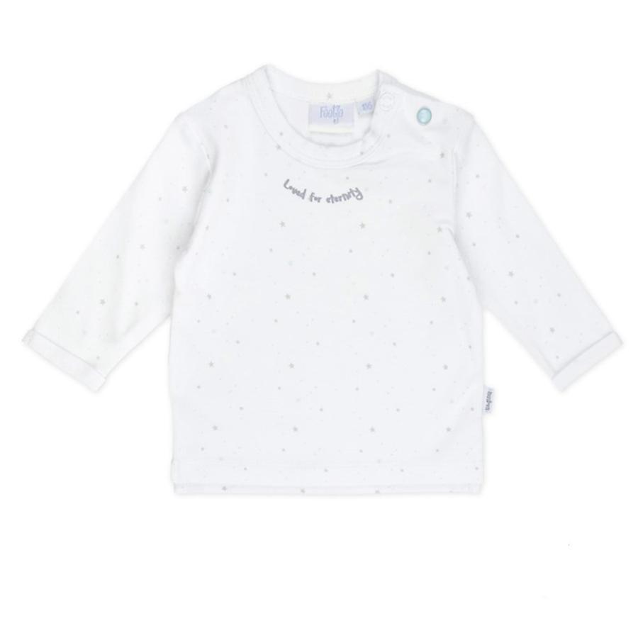 Feetje Chemise manches longues Stars blanc à motifs