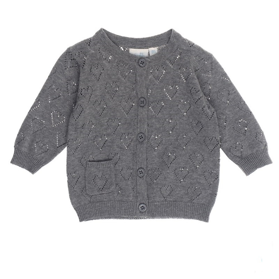 Feetje Cardigan All of me anthracite melange