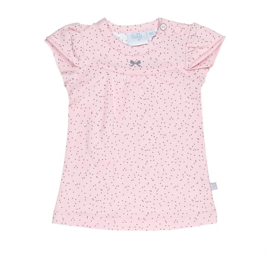 Feetje Girl s jurk Allemaal met roze patroon...