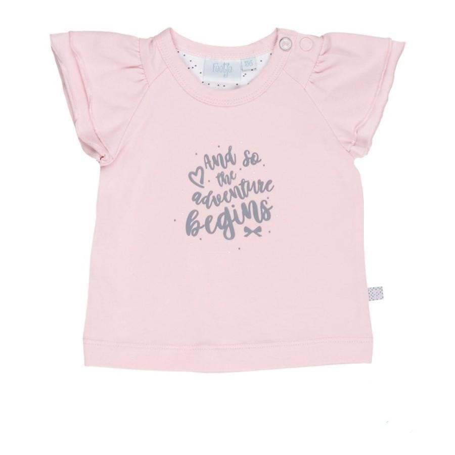 Feetje T-shirt äventyr alla av mig rosa