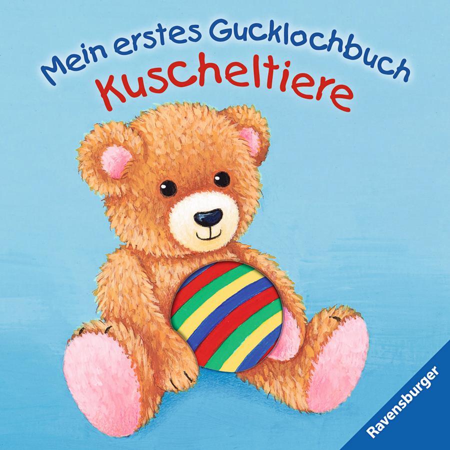 RAVENSBURGER Mein erstes Gucklochbuch - Kuscheltiere