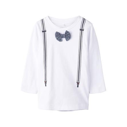 name it Shirt met lange mouwen Nbfhulma helder wit