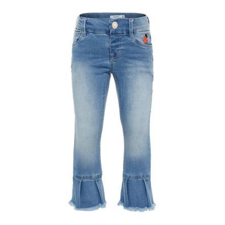 name it Girls Jeans Polly light blue denim