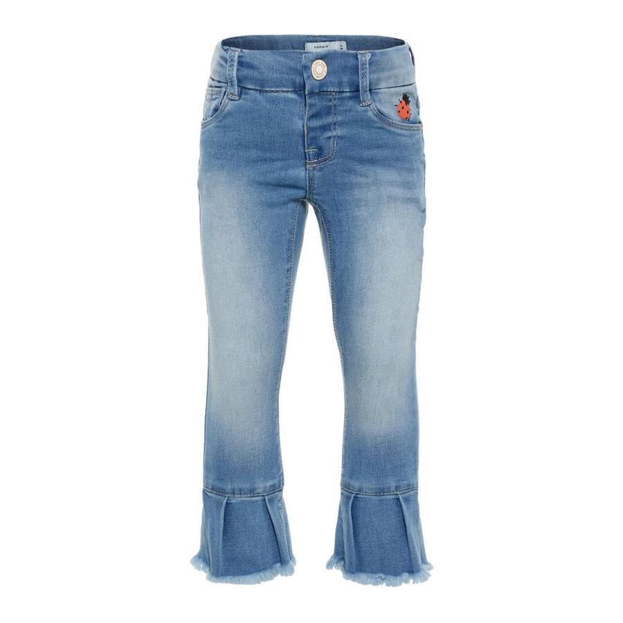 name it Girl s Jeans Polly jasnoniebieski denim.