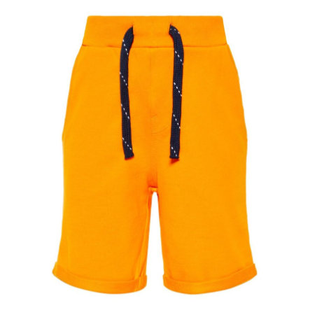 name it Boys Shorts Vermo vlam oranje