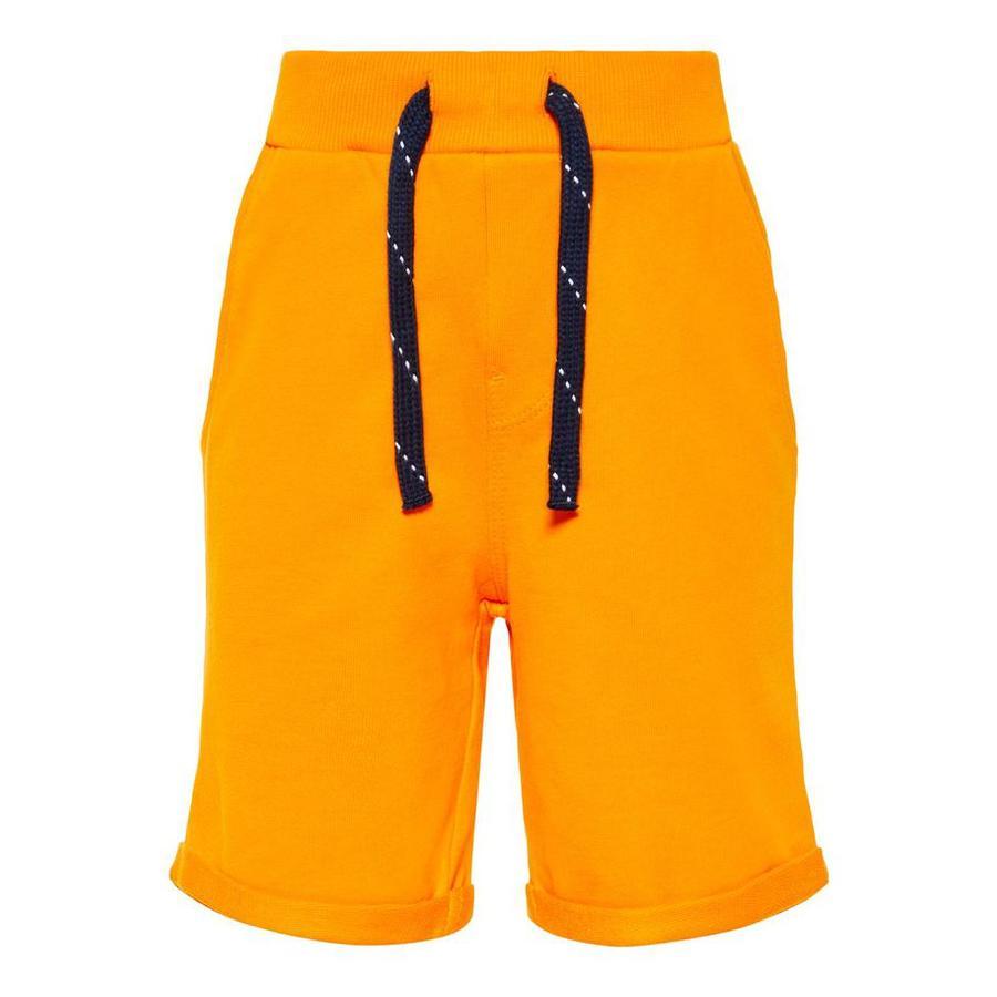 name it Boys Short Vermo flamme orange Vermo