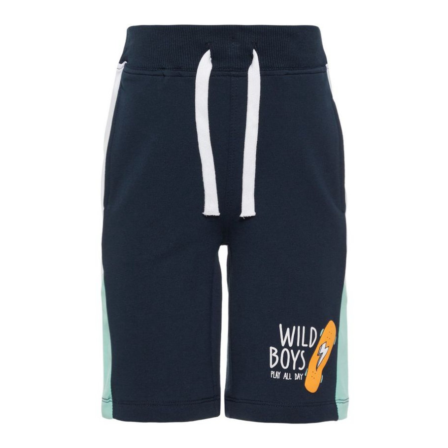 name it Boys Shorts Hermelien donker saffier