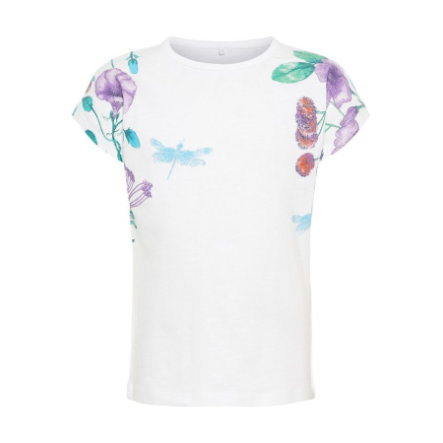 name it Girl s T-Shirt Halisa Blanc vif Halisa