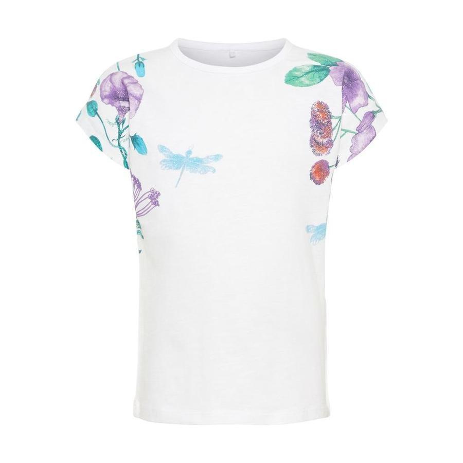 name it Girl s T-Shirt Halisa Bright White.