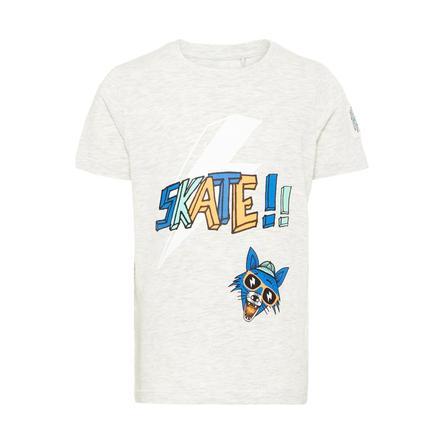 name it Boys T-Shirt Huffano Jasnoszary Melange