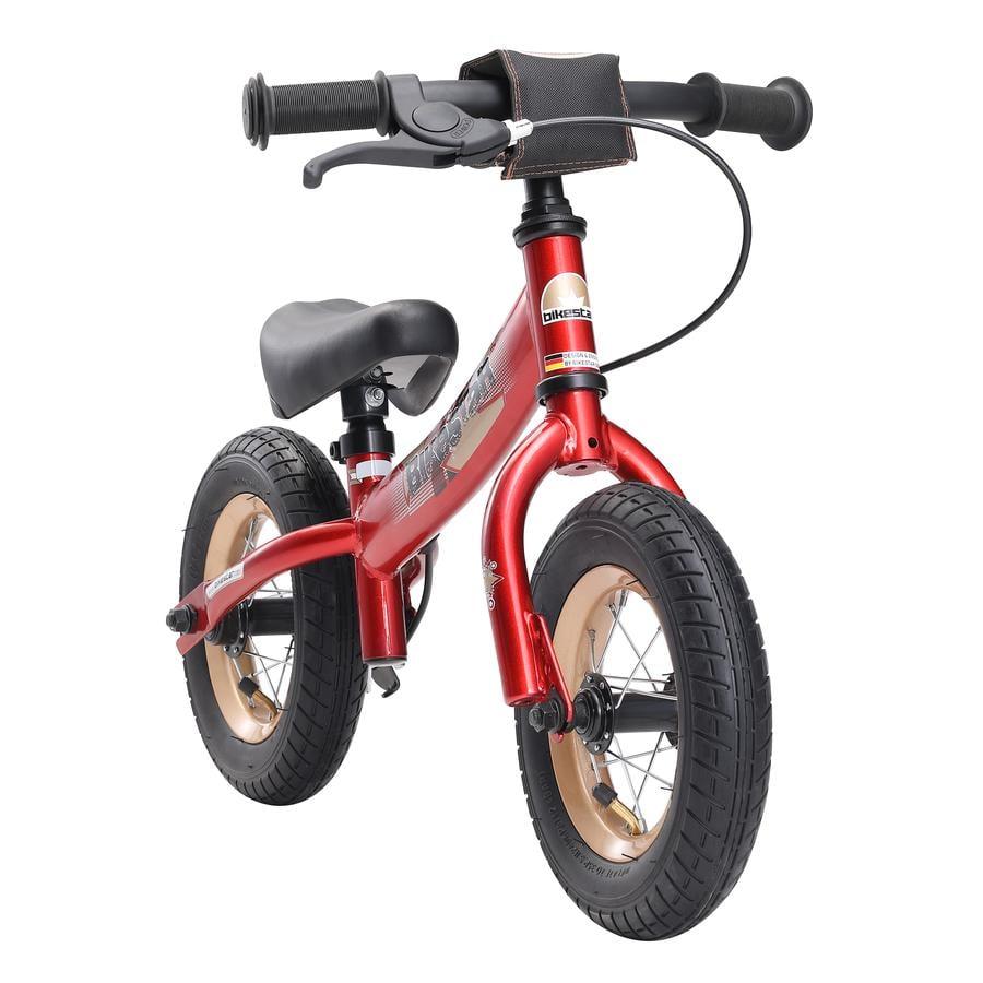 """bikestar Premium Sicherheits-Kinderlaufrad 10"""", Herzschlag Rot"""