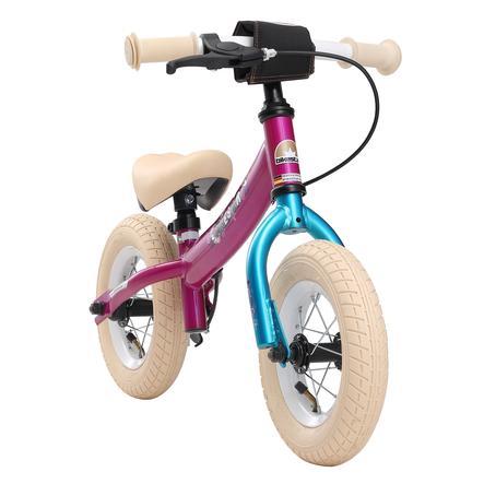 "bikestar Bicicletta senza pedali sicura 10"", Berry -turchese"