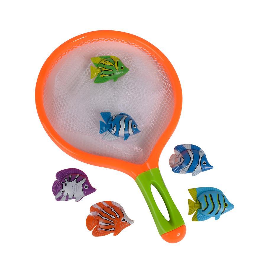 Simba Water Fun Keschernetz mit Fischen