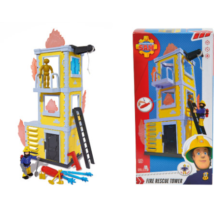 SIMBA Fire Fighter Sam - Large Fire Training Set